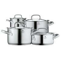 Kookpunt-WMF Gourmet Plus Pannenset met RVS Deksels, 4-delig-aanbieding