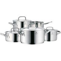 Kookpunt-WMF Gourmet Plus Pannenset met Steelpan en RVS Deksels, 5-delig-aanbieding
